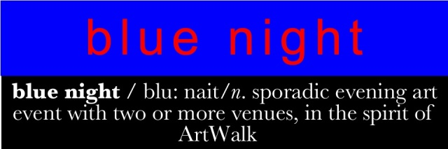 blue night logo