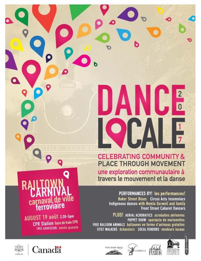 Dance Locale Poster Carnival