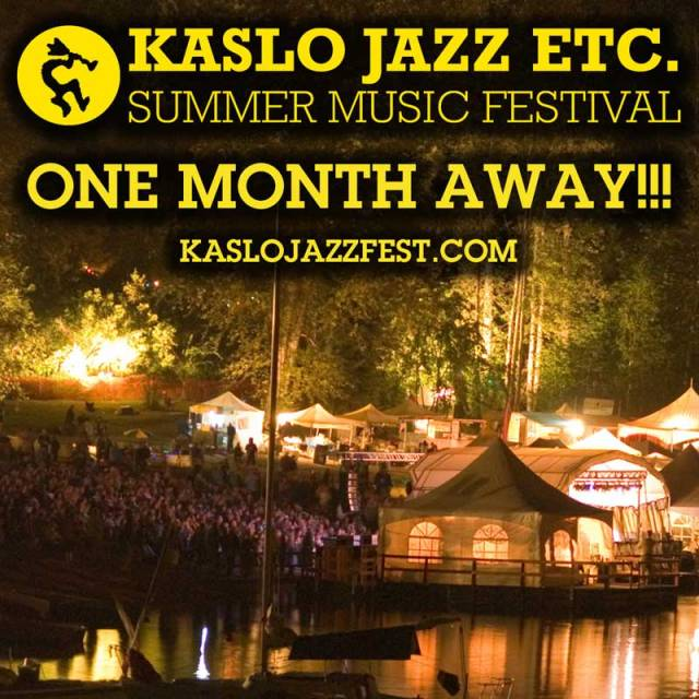kaslo-jazz-one-month-away